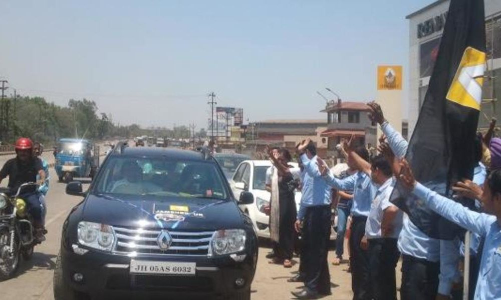 Flag Off Of Garlanding India 2014