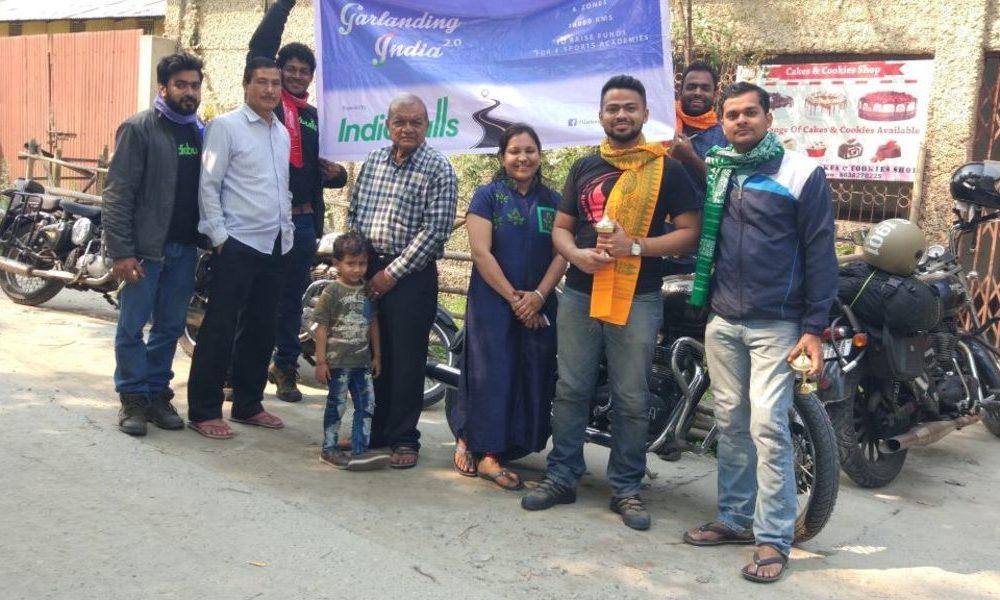 Garlanding India 2.0 at Bongaigaon